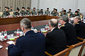 U.S. Army Gen. Martin E. Dempsey, foreground right, the chairman of the Joint Chiefs of Staff, meets with People's Liberation Army (PLA) cadets at a PLA Aviation Corps academy near Beijing April 24, 2013 130424-D-VO565-042.jpg