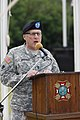 U.S. Army Maj. Gen. Myles Deering, the adjutant general of Oklahoma, delivers the keynote address during a Memorial Day ceremony May 27, 2013, at the Sunny Lane Cemetery in Del City, Okla 130527-Z-VF620-3731.jpg