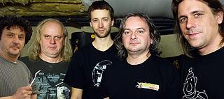Už jsme doma progressive rock band from Czech Republic