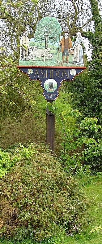 Ashdon - Signpost in Ashdon