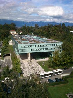 UNAIDS building Geneva, Switzerland.JPG