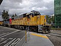 UP 807 crossing Hamilton Avenue in Campbell.jpg