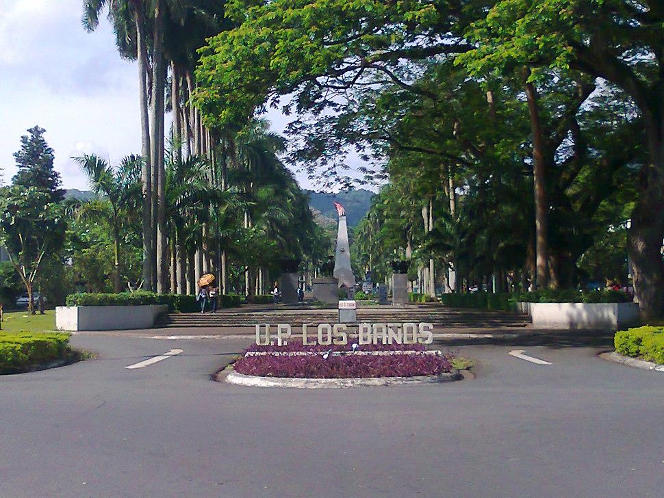 UP Los Baños Main Gate and Carabao Park