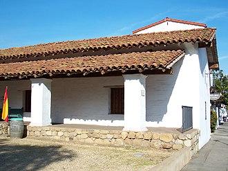 Casa de la Guerra - A close-up photo of the northeastern part of the building