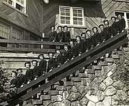 USN CH Sun Valley Lodge Nurses ca1944
