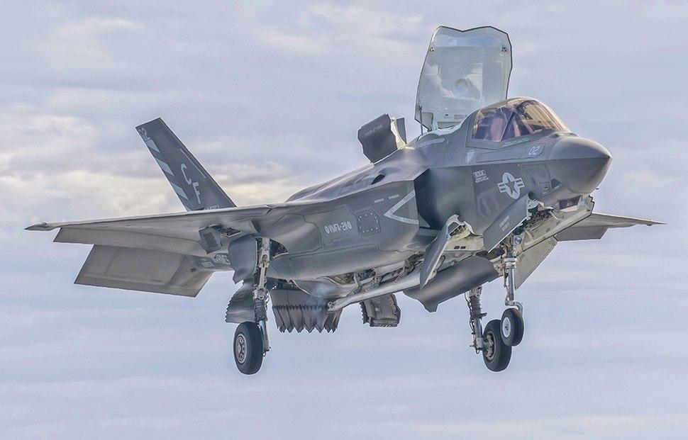 USS America%27s Test F-35 Flight Operations