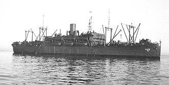 SS American Legion (1919) - Image: USS American Legion APA 17