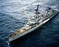USS Bausell (DD-845) as target ship 1982.JPEG