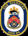 USS Bulkeley DDG-84 Crest.png