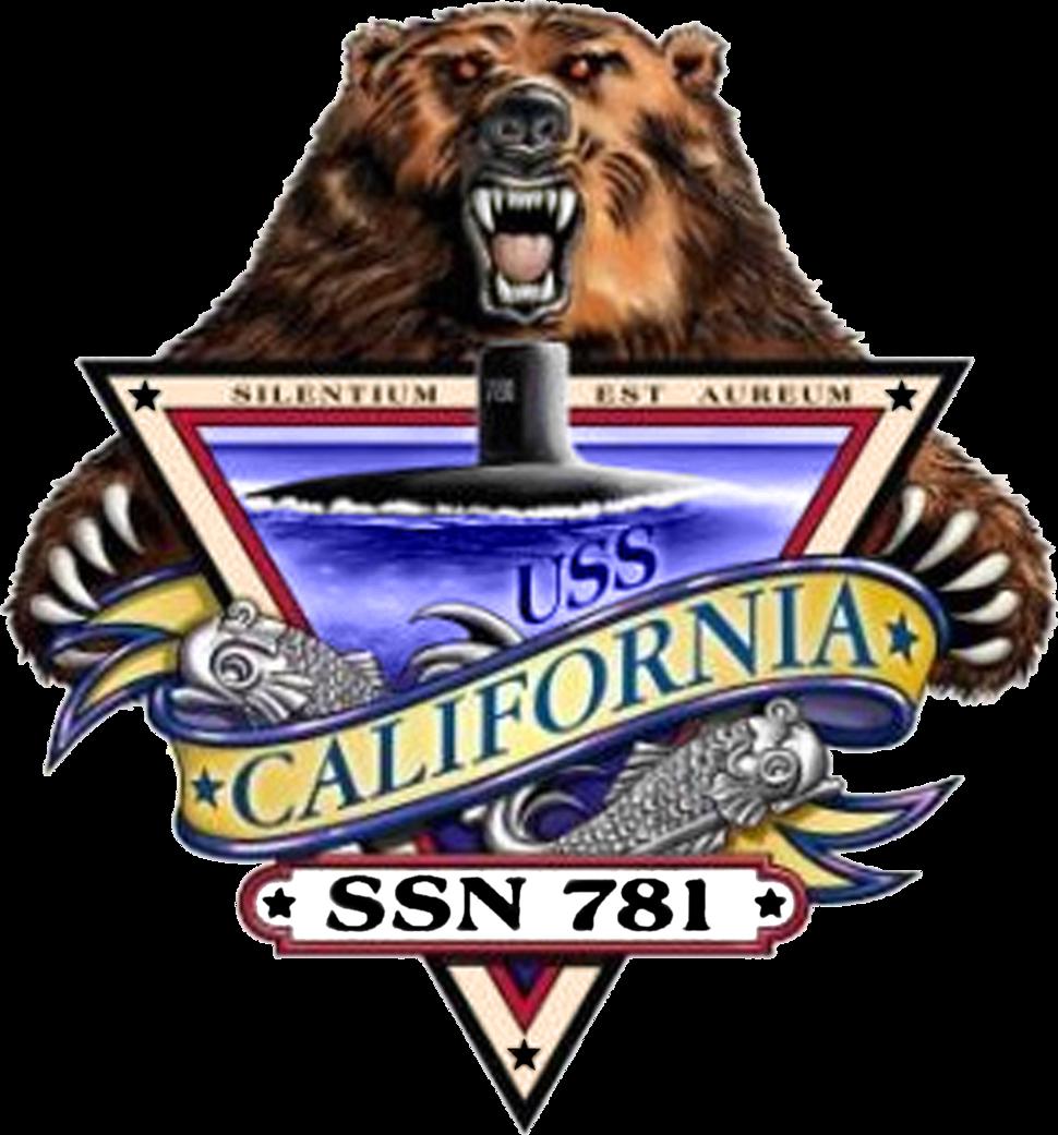 USS California SSN-781 Crest