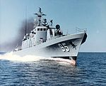 USS Defiance (PG-95) during trials c1969.jpg