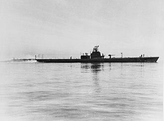 USS Growler (SS-215) - Growler in May 1943.