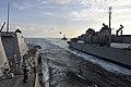USS Jason Dunham receives fuel from USNS Bridge. (8408576734).jpg