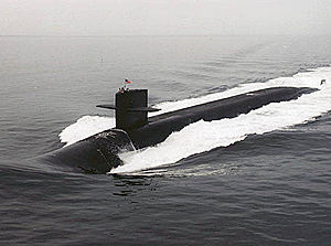 The USS Kentucky (SSBN-737)