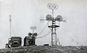 US Army Signal Corps AN-TRC-1, 5, 6, & 8 microwave relay station 1945.jpg