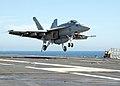 US Navy 020724-N-8794V-001 Maiden combat deployment of the F-A-18E Super Hornet.jpg