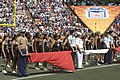 US Navy 070210-N-9076B-018 Military members from all branches of the service participated in the half time show at the Pro Bowl.jpg