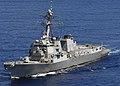 US Navy 080705-N-2735T-128 The guided-missile destroyer USS Bulkeley (DDG 84), a member of the Nassau Strike Group (NASSG), transits the Atlantic Ocean.jpg