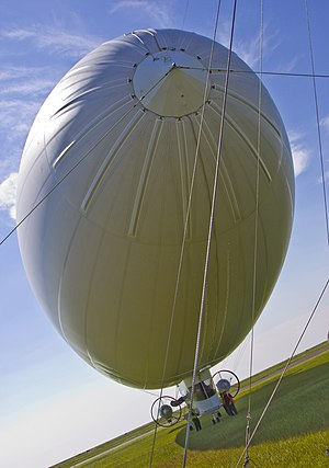 American Blimp MZ-3 - Ship at Lake Front Airport, New Orleans, Louisiana in July 2010.