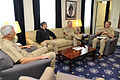 US Navy 101005-N-8273J-055 Chief of Naval Operations (CNO) Adm. Gary Roughead, center right, meets with senior leadership in Naples.jpg