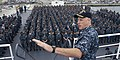 US Navy 101014-N-9643K-124 Capt. J.L. Harnden, commanding officer of the amphibious assault ship USS Bonhomme Richard (LHD 6), delivers remarks to.jpg