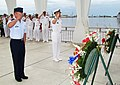 US Navy 110603-N-ZZ999-056 Col. Dann Carlson, deputy commander of Joint Base Pearl Harbor-Hickam, and Capt. Nicholas Mongillo, commanding officer o.jpg