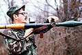 US Soldier demonstrates the use of a RPG-7 1984 DF-ST-85-13196.JPEG