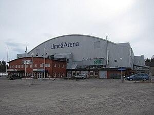 2000 World Junior Ice Hockey Championships - Image: Umeå Arena 100415
