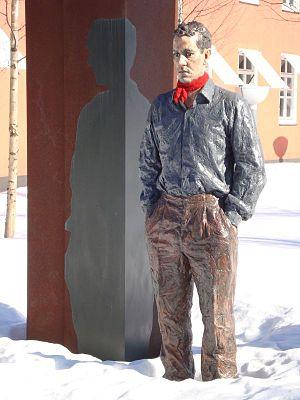 Umedalen skulpturpark - Image: Umedalen Sean Henry 02