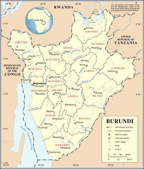 united nations security council resolution 1012 burundi