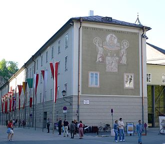 University of Salzburg - University library