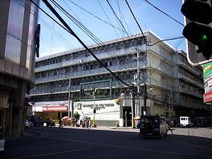 University of the Visayas - University of the Visayas Main Campus along Colon Street, Cebu City. Colon Street is known to be the oldest street in the country.