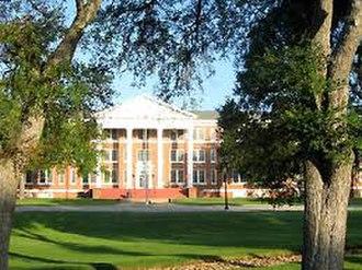 Belton, Texas - University of Mary Hardin-Baylor