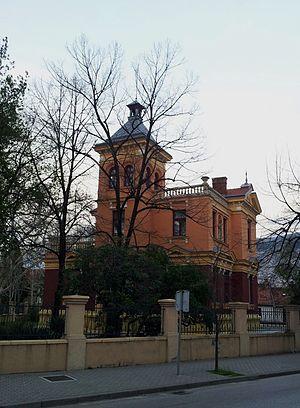 University of Mostar - University of Mostar Rectorate Building in Rondo Square Mostar