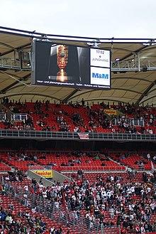Mercedes Benz Arena Polizeiabschnitt