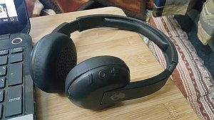 Skullcandy - A black Bluetooth budget headset known as Uproar Wireless by Skull Candy