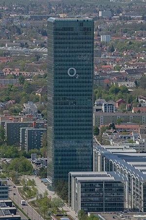 Hochhaus Uptown München