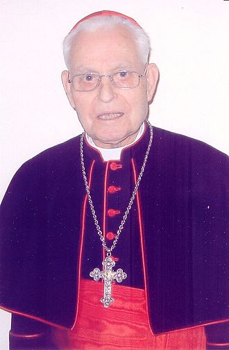 Urbano Navarrete Cortés - Image: Urbano Navarrete, Jesuit and Cardinal