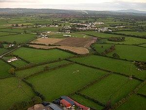 Urlingford - Aerial view of Urlingford