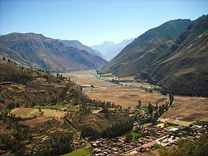Daniel W. Gade -  The Urubamba River Valley: central to Daniel W. Gade's scientific life.