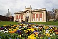 Usher Gallery and Spring Flowers - geograph.org.uk - 153938.jpg