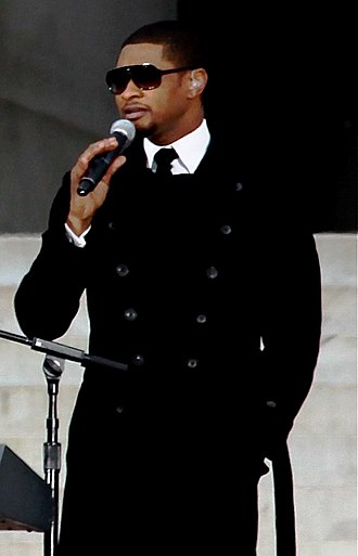 Usher (musician) - Usher performing at the We Are One: The Obama Inaugural Celebration at the Lincoln Memorial