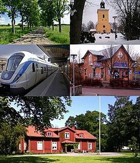 Västerhaninge Place in Södermanland, Sweden