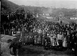 Dobrujan Bulgarians - Dobrujans in Kaynardzha, 1941