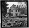 VIEW OF RIGHT (SIDE) ELEVATION - Warren Wilkey House, 190 Main Street, Roslyn, Nassau County, NY HABS NY,30-ROS,7-5.tif