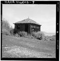 VIEW OF WOOD FRAME TIN ROOF BUILDING, LOOKING NORTHWEST - Jones Mine, Scofield, Carbon County, UT HAER UTAH,4-SCOF,1-7.tif