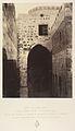 VIIe Station. Jésus tombe pour la seconde fois. Ancienne porte judiciaire, il s'y trouvait une colonne ou l'on exposait les condamnés; Elle éxiste encore cachée dans l'intérieur de la maison a gauche MET DP345540.jpg