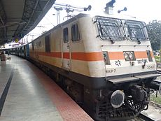 Vaigai Express with WAP7.jpg