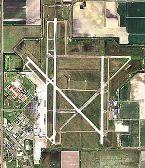 Harlingen Air Force Base - Image: Valley International Airport TX 2006 USGS