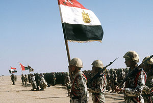 Arab–American relations - Arab Coalition Forces, from Egypt, Syria, Oman and Kuwait during Operation Desert Storm..
